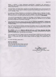 ITB-Contract Package for the Rehabilitation of Cabugbugan Diversion Dam_Pg2
